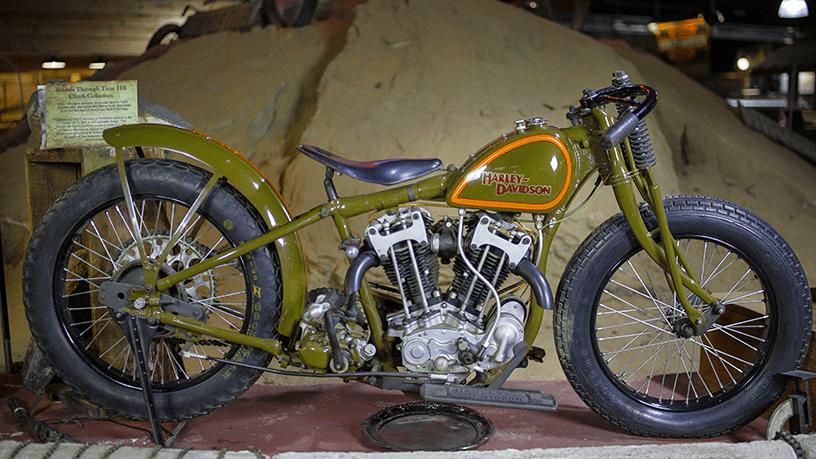 Oldmotodude 1928 Harley Davidson Peashooter Hill Climber: Wheels Through Time